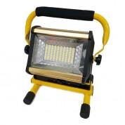 충전식작업등 LED90개 사각 CA-900,45W,2400루멘 국산 후레쉬 랜턴 작업등