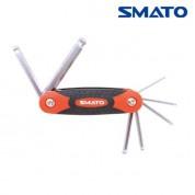 SMATO 스마토 볼렌치세트(접식) 7FMB-2(2.5-10MM)