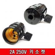 2A 250V 키소켓