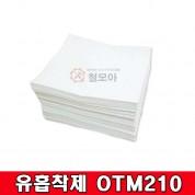 티투컴 유흡착제 OTM210 100매 기름제거 흡착패드 유흡착포 기름산업용 청소용품